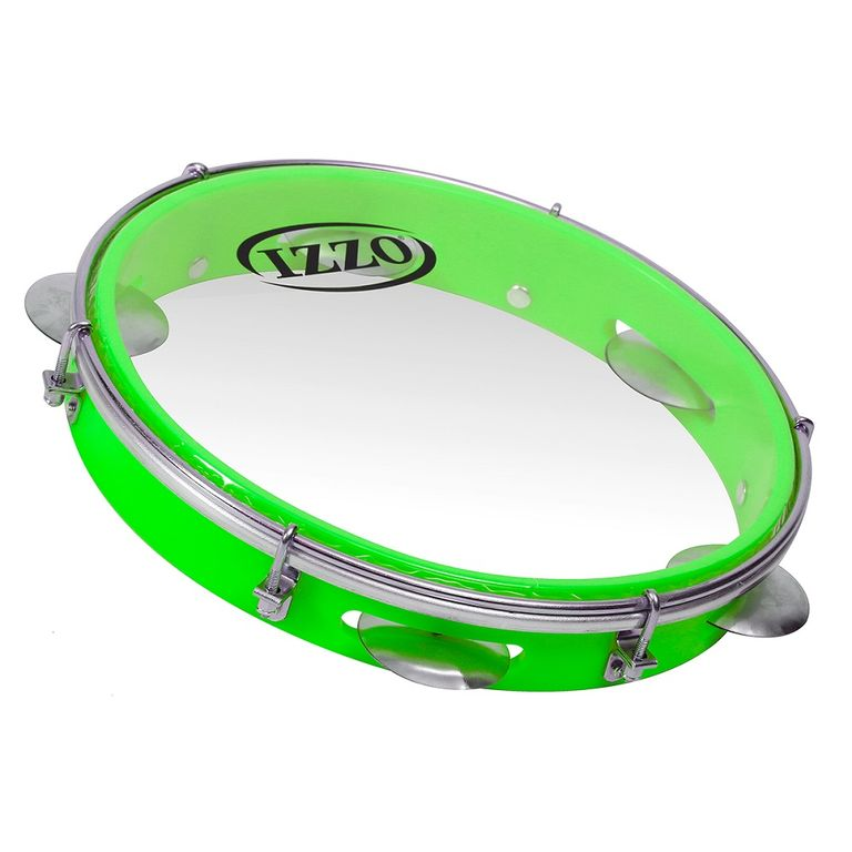 pandeiro-10-abs-verde-neon-com-pele-transparente-izzo